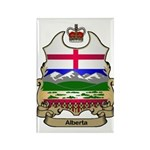 Alberta Shield Rectangle Magnet (100 pack)