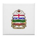 Alberta Shield Tile Coaster
