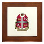 Newfoundland Shield Framed Tile