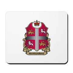 Newfoundland Shield Mousepad