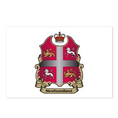 Newfoundland Shield Postcards (Package of 8)