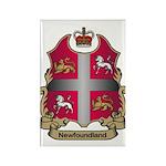 Newfoundland Shield Rectangle Magnet (100 pack)