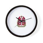 Newfoundland Shield Wall Clock