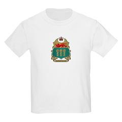 Saskatchewan Shield Kids T-Shirt