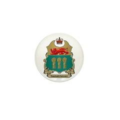 Saskatchewan Shield Mini Button