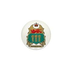 Saskatchewan Shield Mini Button (10 pack)