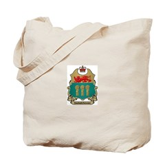 Saskatchewan Shield Tote Bag