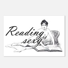 Reading is Sexy - nude Postcards (Package of 8)