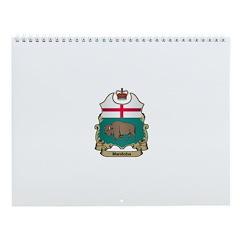 Manitoba Shield Wall Calendar