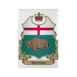 Manitoba Shield Rectangle Magnet (100 pack)