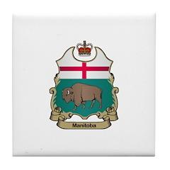Manitoba Shield Tile Coaster