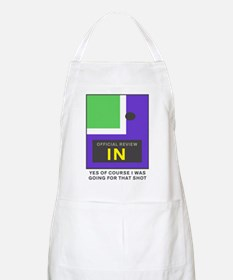 Going For That Shot Apron