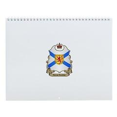 Nova Scotia Shield Wall Calendar
