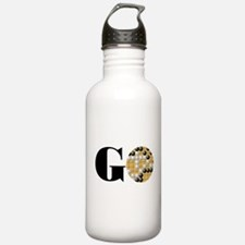 Go Word Water Bottle