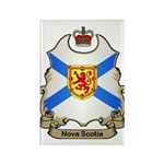 Nova Scotia Shield Rectangle Magnet (100 pack)
