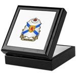 Nova Scotia Shield Keepsake Box