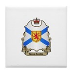 Nova Scotia Shield Tile Coaster