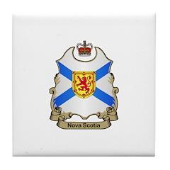 Nova Scotia Shield Tile Coaster
