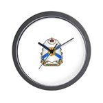 Nova Scotia Shield Wall Clock