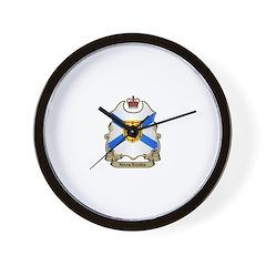 Nova Scotia Shield Wall Clock