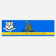 Dont Tread on Me Connecticut Bumper Bumper Sticker
