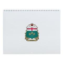 Ontario Shield Wall Calendar