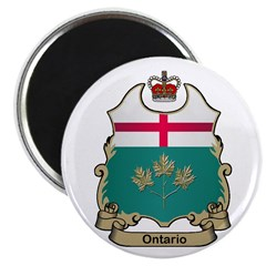 "Ontario Shield 2.25"" Magnet (100 pack)"