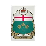 Ontario Shield Rectangle Magnet