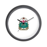 Ontario Shield Wall Clock
