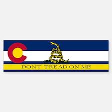 Dont Tread on Me Colorado Bumper Bumper Sticker