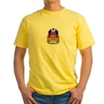 Quebec Shield Yellow T-Shirt