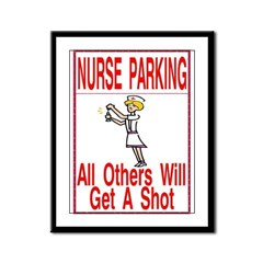 Nurse Framed Panel Print