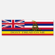 Don't Tread on Me Hawaii Sticker (Bumper)