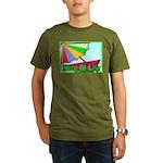 Travel Club Organic Men's T-Shirt (dark)