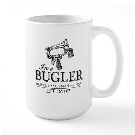Bugler Large Mug