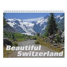 Beautiful Switzerland Wall Calendar