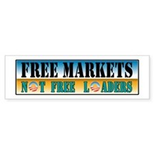 Free Markets Bumper Sticker