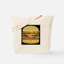 Cheeseburger king Tote Bag