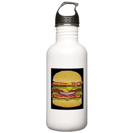 Cheeseburger king Stainless Water Bottle 1.0L