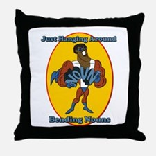 Verb Bending a Noun SchoolHouse Rock Throw Pillow