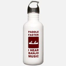Paddle faster I here banjo mu Water Bottle