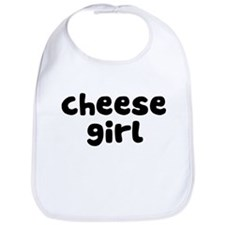 Cheese Girl Bib
