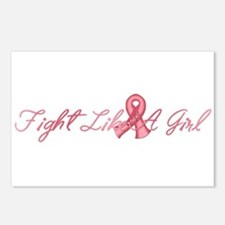 Fight Like a Girl Postcards (Package of 8)
