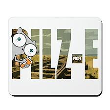 Pilz-E (Name Design) Mousepad