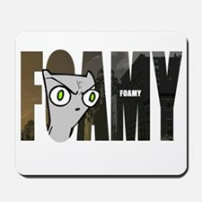Foamy (Name Design) Mousepad