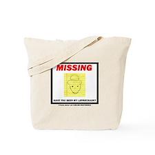 Missing Leprechaun Tote Bag