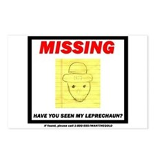 Missing Leprechaun Postcards (Package of 8)
