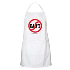 Cute Four letter word Apron