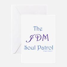JDM Soul Patrol Greeting Card