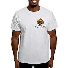 Club 300 Logo 13 T-Shirt Design Front Pocket